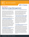 Image of Identity and App Management guide from SchoolMessenger