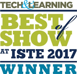 Tech & Learning Magazine ISTE 2017 Best of Show Award