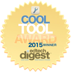 EdTech Digest Cool Tool Award 2015