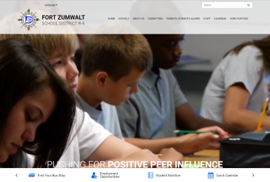 Fort Zumwalt School District website thumbnail