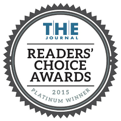 T.H.E. Journal Readers' Choice Award 2015